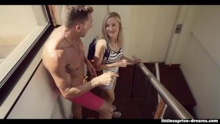 Swinger house – Surprise Visitor in Barcelona – Little Caprice