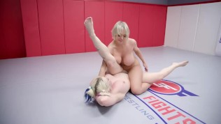 Nude lesbian wrestling with good pussy eating Dee Williams vs Leya Falcon