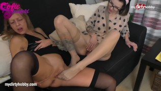 MyDirtyHobby – Milf step mom does lesbian with step daughter