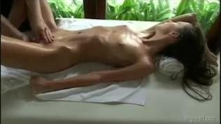 screaming orgasm girl massage