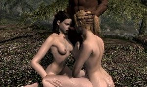 (Skyrim) Innocent girls got caught off guard and lost their virginity to a scum
