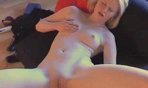 Teen dildo in her bedroom