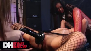 Deviant Hardcore – Amazing Skin Diamond Is Been Dominated By Two Sexy Babes Maddy Oreilly And Brandy Aniston