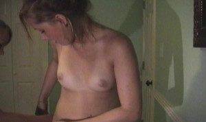 1st time pussy munching and strapon fun part 2