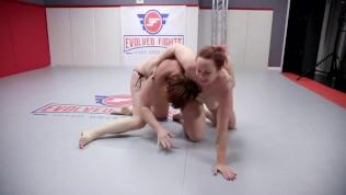 Mistress Kara Battles 2 Ladies In Lesbian Wrestling Strapon Hard Fucking And Face Sitting