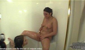 sexy strapon hidden shower back at condo
