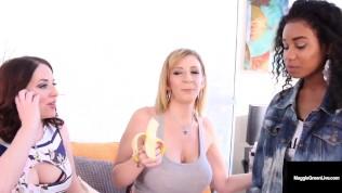 Pussy Pleasing Mature Muffs Sara Jay & Maggie Green Fuck Cute Jenna Foxx!