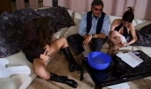 Fucking Her Doggystyle With A Strapon – Feline Films