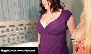Maggie Green Helps Step Daughter Fuck Step Mom Karen Fisher!