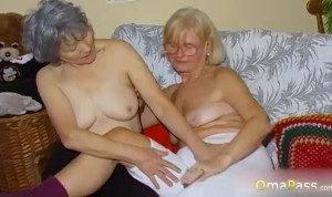 Grannies playing with natural tits masturbating